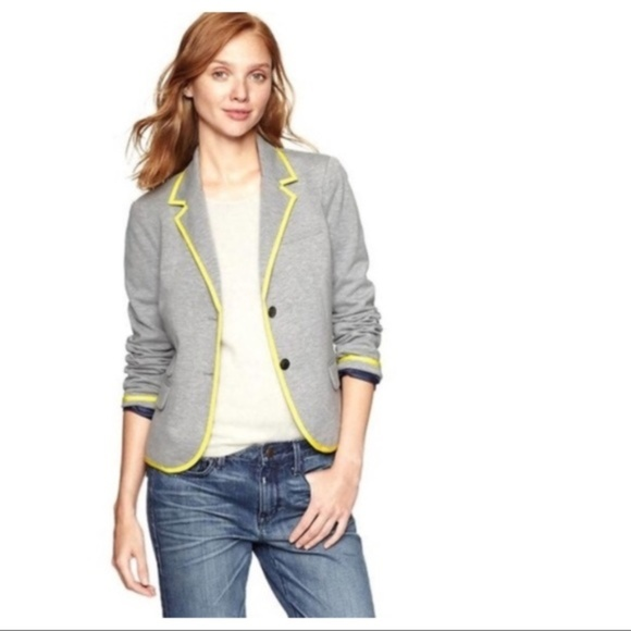 GAP Jackets & Blazers - Gap Academy Blazer in Heather Grey Ships Same Day
